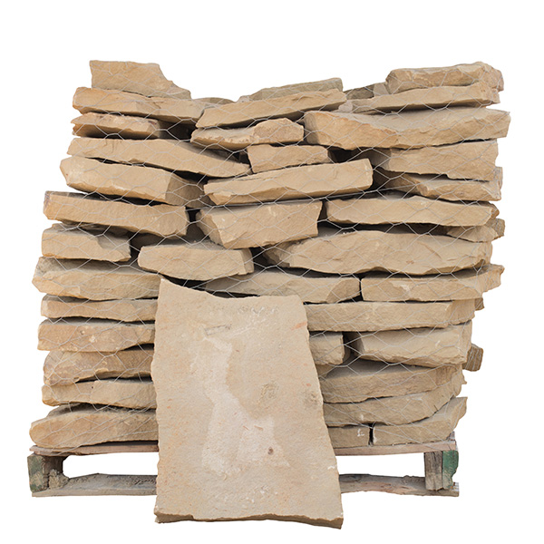 Brown Sandstone Patio | Whittlesey Landscape Supplies | Austin TX